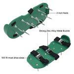 MYI Chaussures Spike pour Aérateur de Gazon - pour Aérer efficacement Le Sol de pelouse - Livré avec des Sangles Réglables avec des Boucles Métalliques de la marque MYI image 1 produit