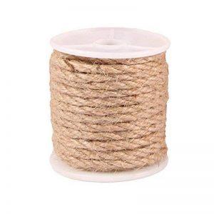 Naturalles Ficelle Corde en Chanvre pour Artisanat pour Mariage Scrapbooking Jardinage (4MM) de la marque Advantez image 0 produit