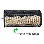 onlyfire Grille de rôtisserie universelle Peanut grains frites Panier Compatible avec pour n'importe quel barbecue au gaz de la marque onlyfire image 1 produit