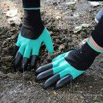 Opard Gants de jardin 2-pack étanche Gants de jardinage avec ABS-plastique griffes pour Jardin et Maison Outil Gants, propagation sols, ratissage, DE ROSE d'élagage (2-Pack gratuit Taille) de la marque Opard image 2 produit