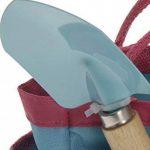Outils de jardin enfant Mini outils de jardin Set 4pièces, Pelle, les enfants Râteau pour enfants, râteau et étui pratique bleu de la marque hibuy image 2 produit