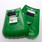 Pelle ramasse-feuilles à dents de Mixitude dotée d'un coussinet de protection au poignet et d'un sac à déchets végétaux d'une contenance de 72 gallons de la marque Mixtitude image 3 produit