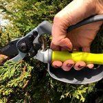 Pro Sécateur Bypass - Sécateur Ergonomique avec Poignée Tournante pour 30% Moins d'effort, Protection des Doigts, Durable, Qualité supérieure, Sécateur de jardinage ultra-tranchants. Découvrez maintenant de la marque Davaon image 1 produit