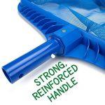 Épuisette Covermason Filetage de lame de râteau de maille de cadre net d'écumeur propre de piscine 51 * 42 de la marque Covermason image 4 produit