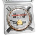 Qwork 40-200 mm réglable trou Cutter Scie cloche pour lampe à encastrer au plafond haut-parleurs trous d'aération sur Sheetrock cloison sèche Plâtre au plafond pour carrela de la marque QWORK image 3 produit