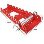 Rangement pour Jeu de Clés Mixtes en Plastique Standard Clés Rack Organisateur Titulaire Outil De Stockage Clés Keeper de la marque Zerodis image 3 produit