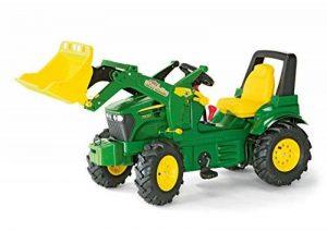 Rolly Toys - 710126 - Tracteur à pédales J.Deere 7930 146 cm avec pneus à chambre à air, boîtier de vitesse, pelle et freins de la marque rolly toys image 0 produit