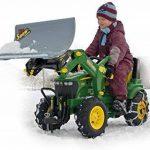 Rolly Toys - 710126 - Tracteur à pédales J.Deere 7930 146 cm avec pneus à chambre à air, boîtier de vitesse, pelle et freins de la marque rolly toys image 2 produit