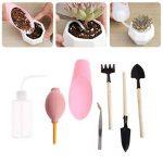 SLYlive Ensemble d'outils à main de Jardinage de 7 Pcs mini, Plantes Succulentes Empotant des Outils de la marque SLYlive image 1 produit