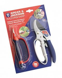 Spear & Jackson Cliquet très tranchant 6358RS Set sécateurs et affûteur Multicoloured de la marque Spear & Jackson image 0 produit