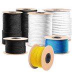 Stanke Corde Câble métallique galvanisé Câble en acier de 3 mm 6 x 7, 4 tendeurs M5 Crochet + anneau, 16 cosses, 16 pinces de serrage - Kit 6 de la marque Seilwerk STANKE image 6 produit