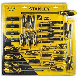 Stanley STHT0-62139 Jeu de 69 tournevis et embouts de la marque Stanley image 0 produit