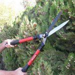 TABOR TOOLS B212 Cisaille à Haies Télescopique 64-84 cm, Lame Ondulée, Revêtement Antiadhésif, Butées Anti-Chocs, pour Tailler des Haies, du buis et des Herbes Décoratives de la marque TABOR TOOLS image 3 produit