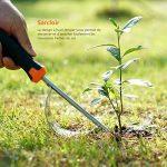 Tacklife Outils de Jardinage 3 pièces GGT2A Classique avec Sarcloir, Cultivateur et Pelle, Outil de Jardin pour ledésherbage, la culture, le greffage de la marque Tacklife image 4 produit