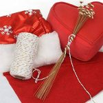 Tenn Well Ficelle de coton, 100m X 2rouleaux Doré Fil combiné Bakers Corde pour pour emballage cadeau DIY Arts Crafts cuisson Boucher Décorations de Noël de la marque Tenn Well image 5 produit