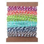 Tim Holtz Idea-ology Ficelle de papier à rayures de la marque Tim Holtz Idea-ology image 1 produit