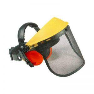 Visière Grillagée en Acier avec Protection Auditive de la marque Soldela ® image 0 produit