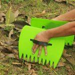 WARKHOME Pick Up Feuilles et poubelle de jardin très résistant en plastique Feuille Collectionneurs de la marque WARKHOME image 2 produit