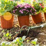 Worth Garden Cultivateur avec revêtement en poudre en acier au carbone de la tête et Grip ergonomique PVC souple de la marque WORTH image 1 produit