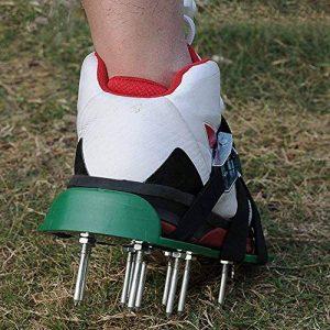 Yunt Chaussures Aérateur de Pelouse Sandales pour Aérer Gazon ou Jardin (Vert) de la marque Yunt image 0 produit