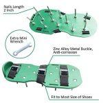 Yunt Chaussures Aérateur de Pelouse Sandales pour Aérer Gazon ou Jardin (Vert) de la marque Yunt image 2 produit